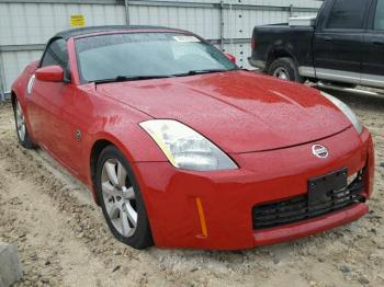 Salvage Nissan 350Z